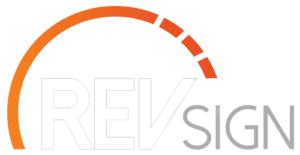 REVsign | Graphic and Web Design Logo